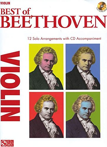 9781603782722: Best of beethoven - violin violon+CD (Play Along (Cherry Lane Music))