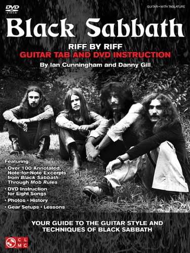 9781603782791: Black Sabbath - Riff by Riff: Your Guide to the Guitar Style and Techniques of Black Sabbath