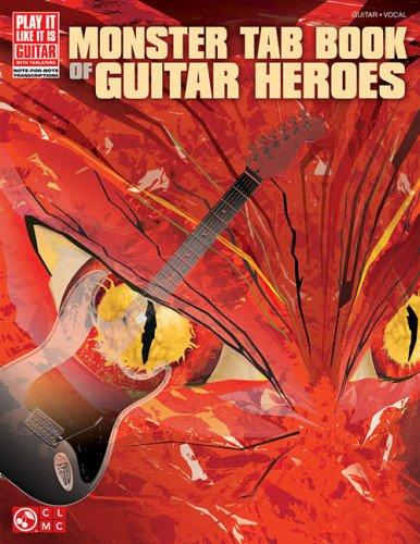 9781603782968: Monster Tab Book Of Guitar Heroes (Play It Like It Is)