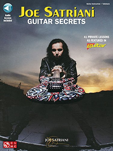 9781603783583: Joe Satriani Guitar Secrets - Book/online audio Edition