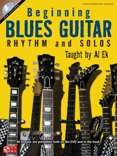 9781603783767: Beginning Blues Guitar Rhythm and Solos (Book/Dvd)