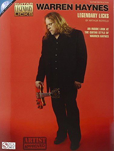 9781603783774: Warren Haynes Legendary Licks (Guitar Legendary Licks)