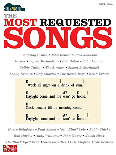 9781603784238: The Most Requested Songs: Strum & Sing Series