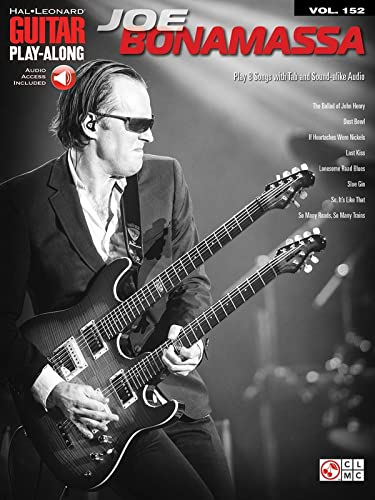 9781603784269: Joe Bonamassa: Guitar Play-Along Volume 152 (Hal Leonard Guitar Play-along)
