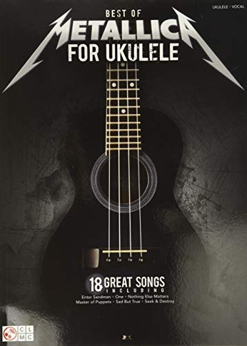 9781603789615: Best Of Metallica For Ukulele