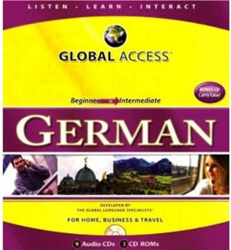 9781603790369: Global Access: German [With 3 CDROMs and Carrying Case] (German Edition)