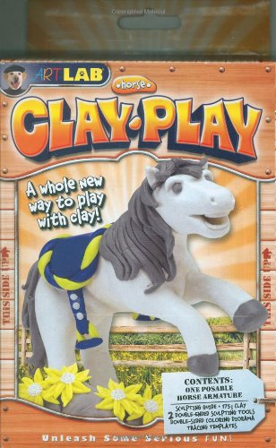 9781603800495: SmartLab Toys Horse Clay Kit (Art Lab)