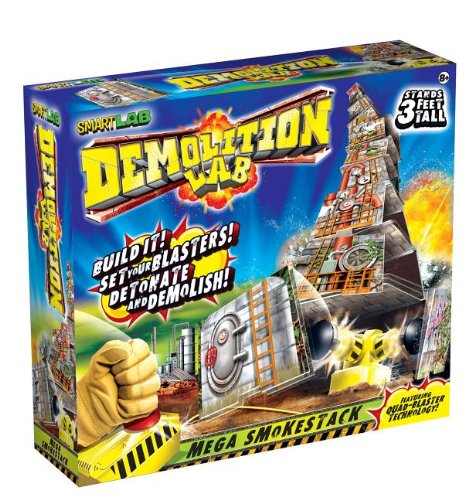 Demolition Lab: Mega Smokestacks (9781603802819) by Smart Lab Toys Becker &. Mayer; Lynn Brunelle