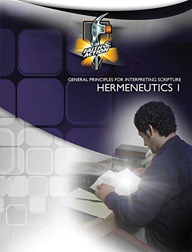 9781603820271: Hermeneutics 1_General Principles for Interpreting Scripture
