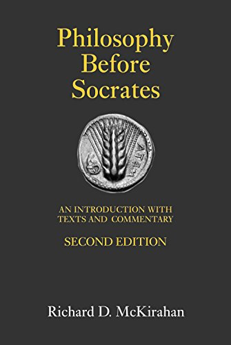9781603841832: Philosophy Before Socrates: An Introduction with Texts and Commentary