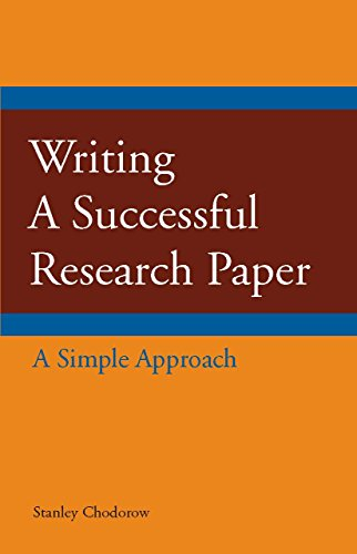9781603844406: Writing a Successful Research Paper: A Simple Approach (Hackett Student Handbooks)