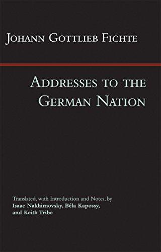 9781603849340: Addresses to the German Nation (Hackett Classics)