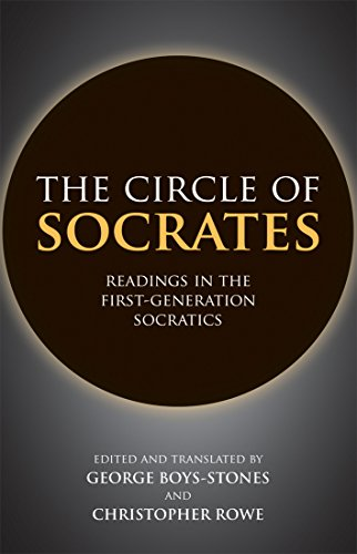 9781603849364: The Circle of Socrates: Readings in the First-Generation Socratics