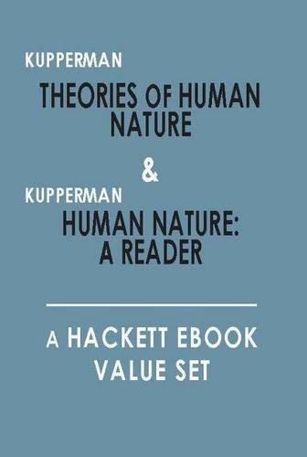 9781603849449: Theories of Human Nature, and, Human Nature: A Reader: A Hackett Value Set