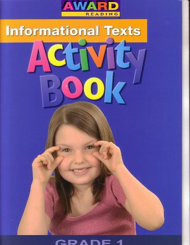 Award Reading Activity Book 2 -Information Texts (Grade 1): Staff