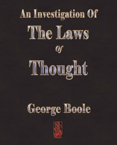 9781603861250: An Investigation Of The Laws Of Thought