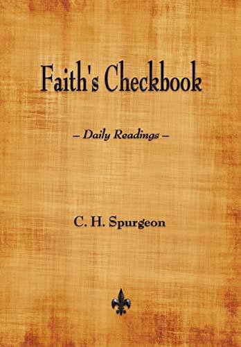 9781603865173: Faith's Checkbook