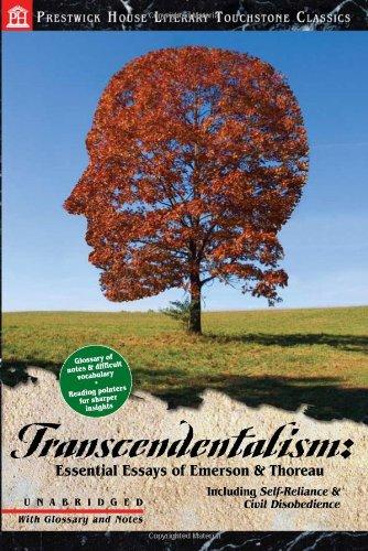 Transcendentalism: Essential Essays of Emerson & Thoreau: Thoreau, Henry David;