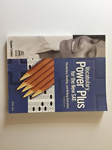 9781603890533: Teacher's Edition, Vocabulary Power Pls for the New Sat: Vocabualry, Reading, and Writing Exercieses for High Scores, Book Two