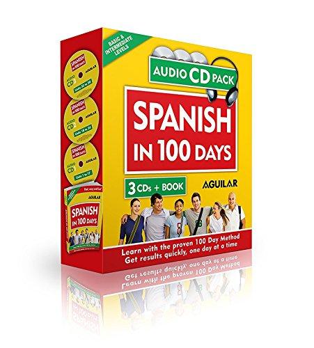 Spanish in 100 Days (Libro + 3 CDs): Aguilar, Aguilar