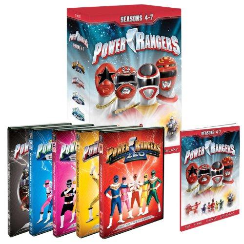 9781603998277: Power Rangers Seasons 4, 5, 6, 7 (Zeo, Turbo, In Space, Lost Galaxy)