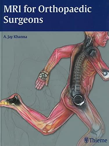 9781604060225: MRI for Orthopaedic Surgeons