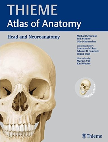 9781604062960: Head and Neuroanatomy (Thieme Atlas of Anatomy): With Scratch Code for Access to WinkingSkullPLUS (Thieme Atlas of Anatomy Series)