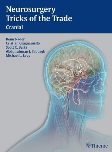 9781604063349: Neurosurgery Tricks of the Trade - Cranial