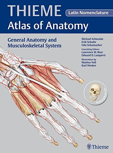 9781604063783: General Anatomy and Musculoskeletal System - Latin Nomencl. (THIEME Atlas of Anatomy)