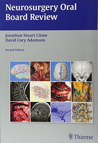 9781604065404: Neurosurgery Oral Board Review