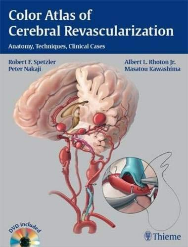 9781604068221: Color Atlas of Cerebral Revascularization: Anatomy, Techniques, Clinical Cases