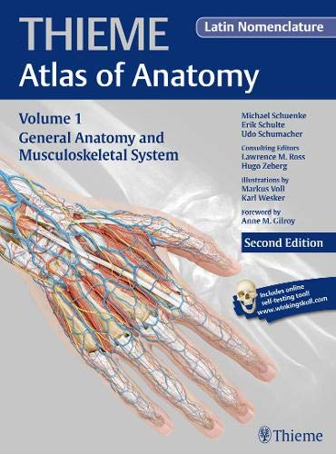 9781604069235: General Anatomy and Musculoskeletal System (Latin) (Thieme Atlas of Anatomy)
