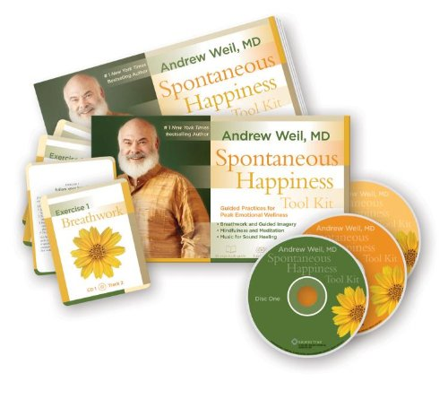 Spontaneous Happiness Tool Kit: Guided Practices for Peak Emotional Wellness [With Cards and Tube ...