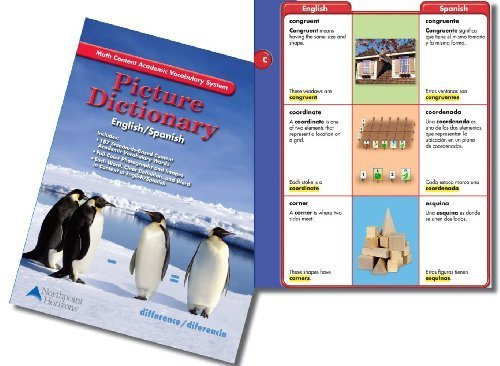 9781604108521: Picture Dictionary English/Spanish: Grades K-5, Math Content Academic Vocabulary System (2010-05-04)