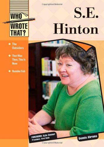 9781604130881: S.E. Hinton (Who Wrote That?)