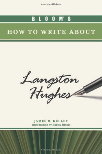 9781604133295: Bloom's How to Write about Langston Hughes (Bloom's How to Write about Literature)