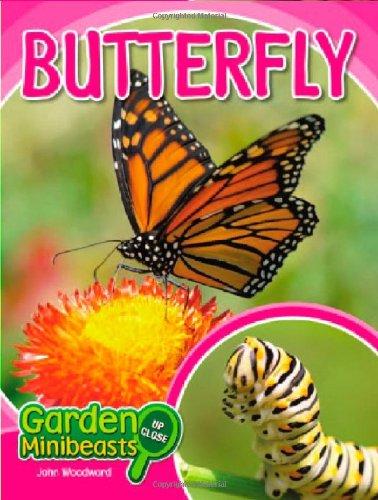 Butterfly (Garden Minibeasts Up Close): John Woodward