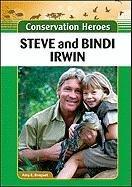 Beispielbild für Steve and Bindi Irwin (Conservation Heroes) zum Verkauf von Bayside Books
