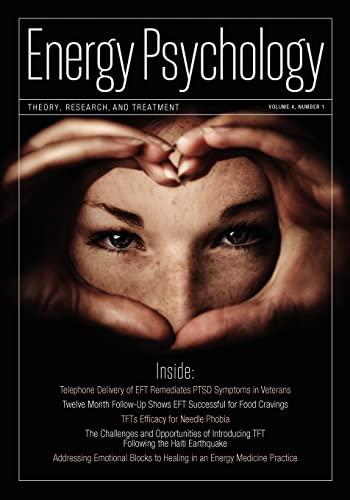 9781604151152: Energy Psychology Journal, 4:1