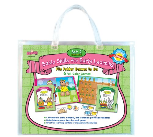 9781604180091: Basic Skills for Early Learning Set 2 File Folder Games to Go(r)