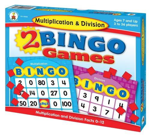 9781604180237: Multiplication & Division Bingo