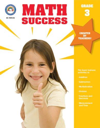 9781604180442: Math Success, Grade 3