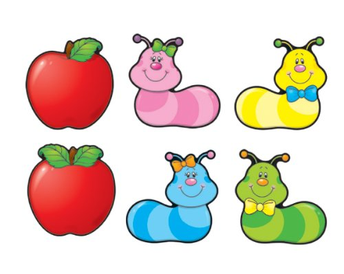 9781604180855: Apples & Worms Cut-Outs