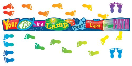 9781604181104: Your Word Is a Lamp Mini Bulletin Board Set