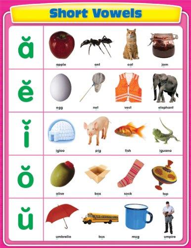 9781604181272: Short Vowels Chart