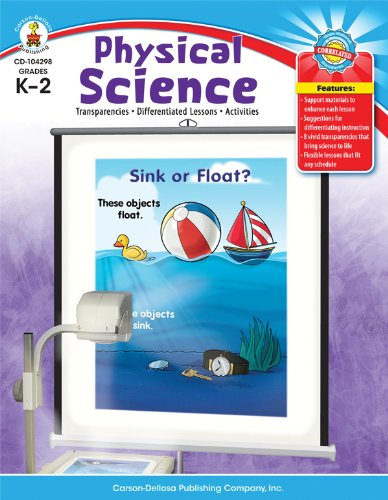 9781604181517: Physical Science, Grades K - 2: Transparencies, Differentiated Lessons, Activities