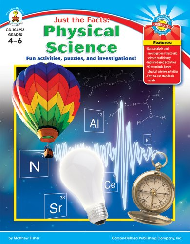 9781604181555: Just the Facts: Physical Science, Grades 4 - 6