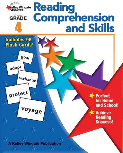 9781604182569: Reading Comprehension and Skills, Grade 4