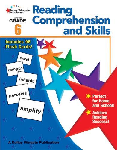 9781604182583: Reading Comprehension and Skills, Grade 6