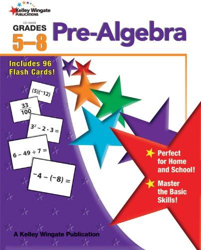9781604182651: Pre-Algebra, Grades 5-8